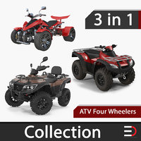 atv wheelers 3D model