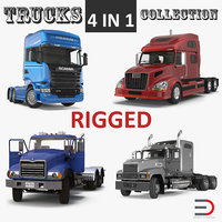 Rigged Trucks Collection