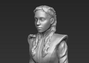 daenerys targaryen ready printing 3D