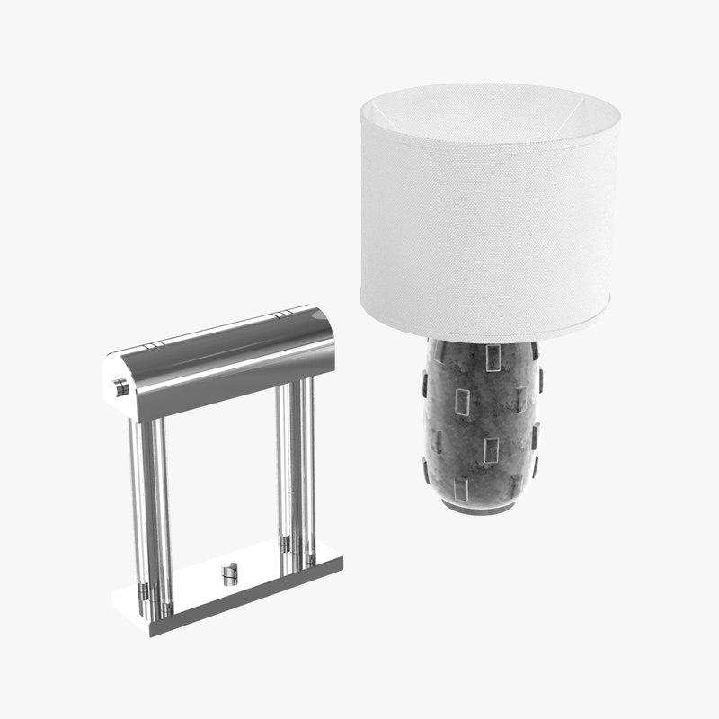 lights boulder table lamp model