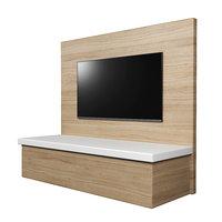 3D model tv wall panel flat screen