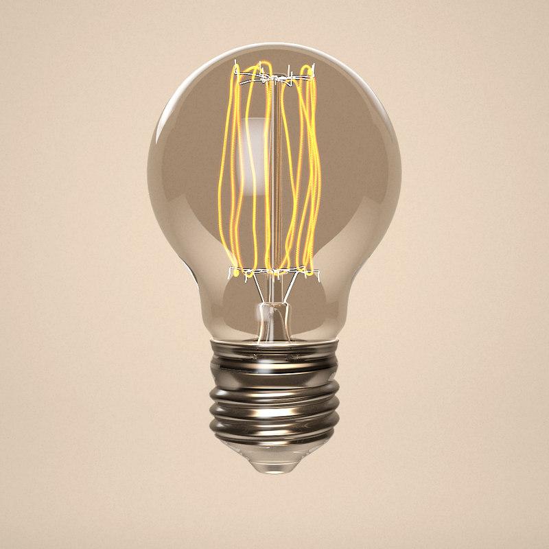 glass bulb 3D model
