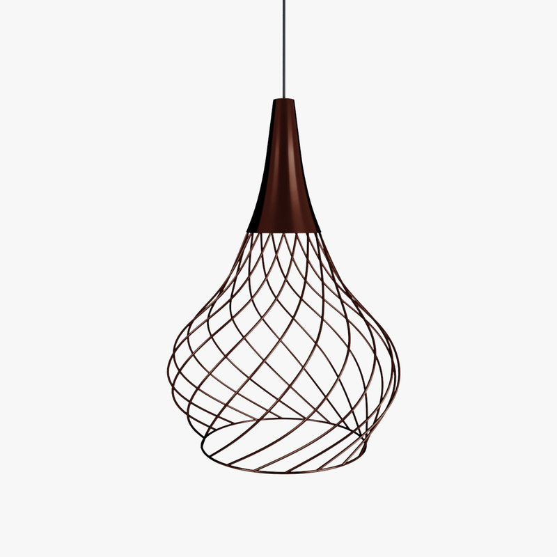 3D chandelier mongolfier p1 model