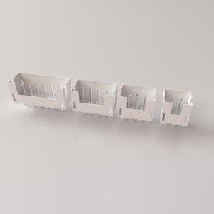 3D xhb connector model