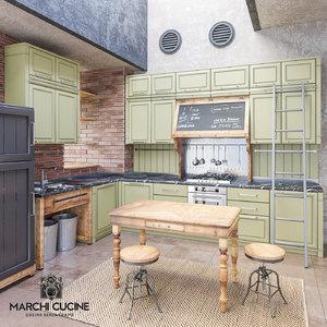 3D marchi cucine nolita -