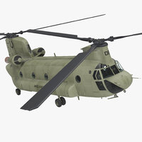 US Army Transport Helicopter CH-47 Chinook