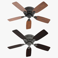 3D ceiling fan - hanter model