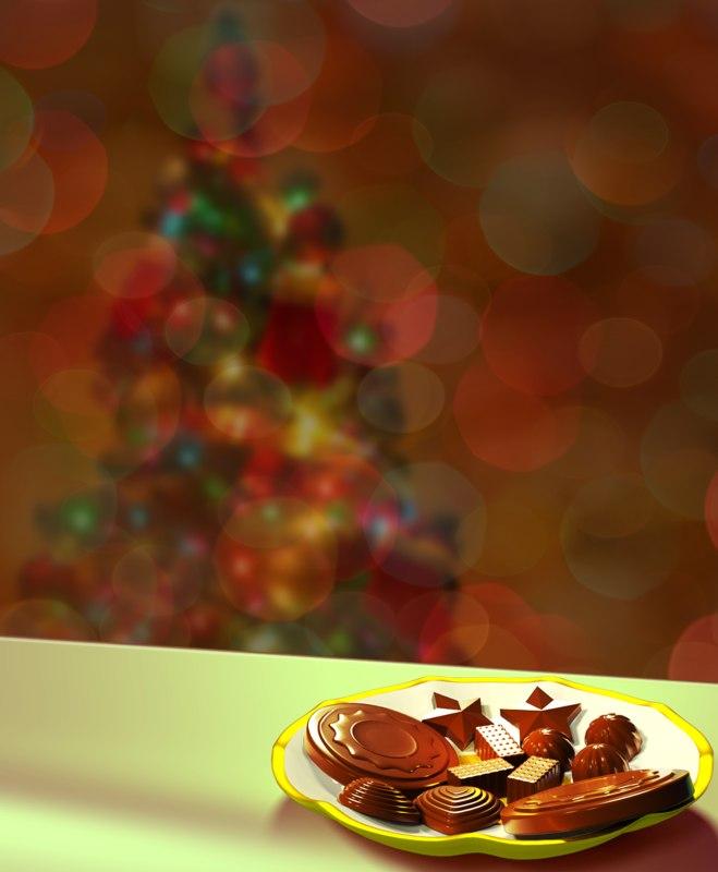 homemade chocolates 8 model