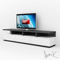 tv stand 3D