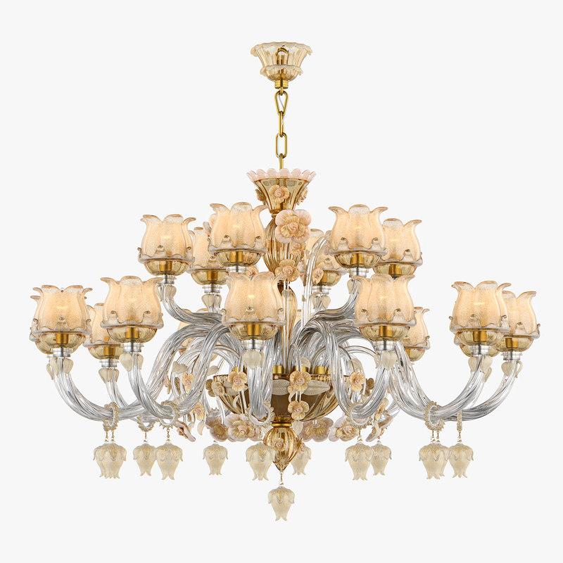 3D chandelier md 89268-12 6 model