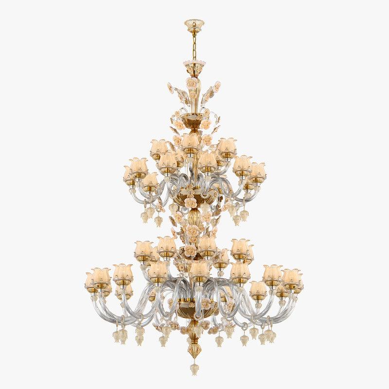chandelier md 89268-39 osgona 3D model