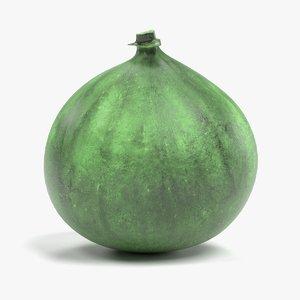 fig fruit pbr 3D model