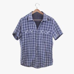 3D flannel shirt