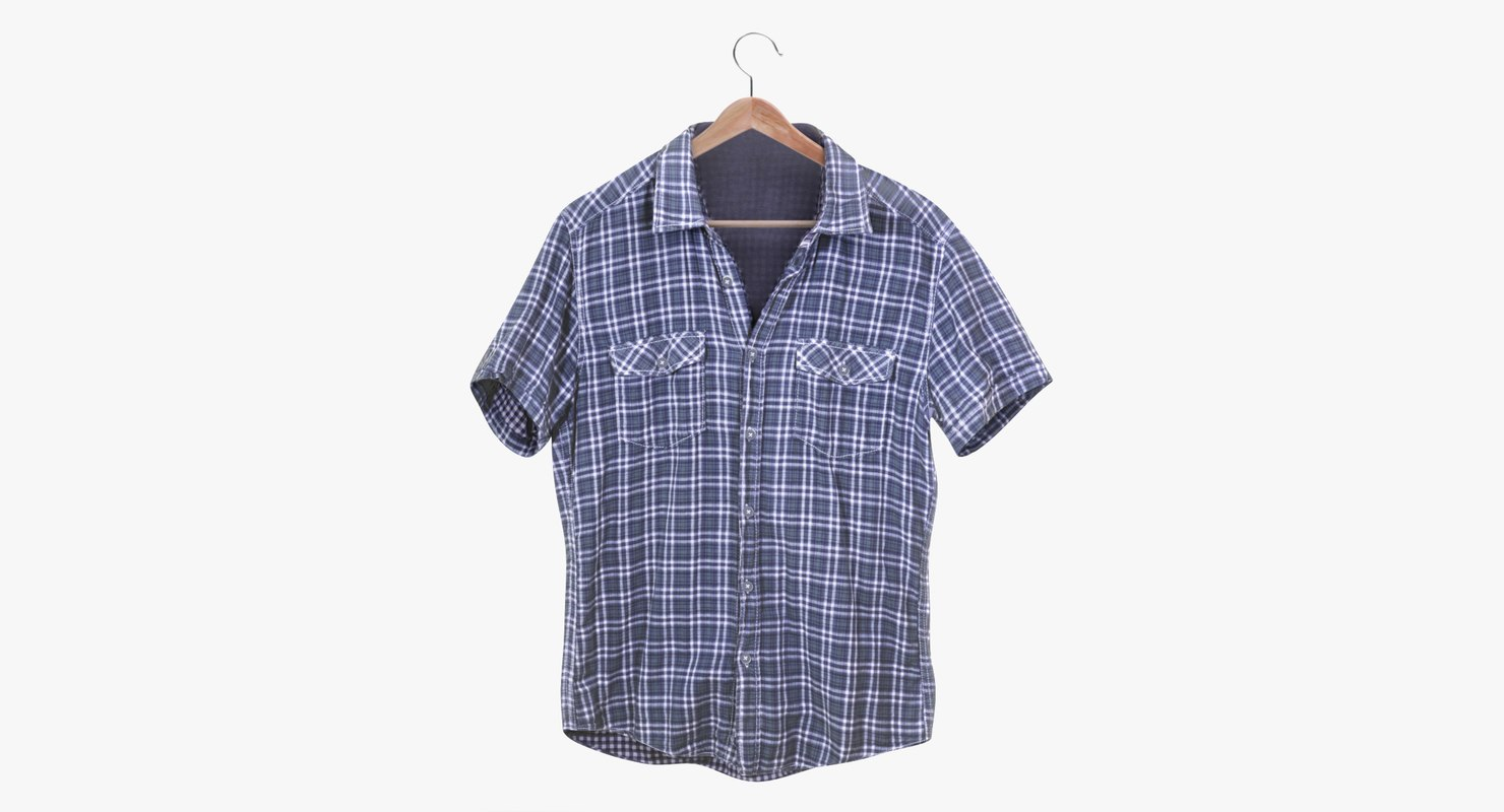 3D flannel shirt