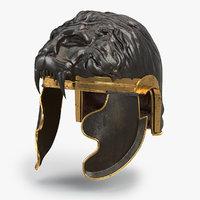 Medieval lion helmet V2