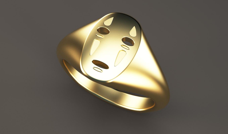 face ring 3D model