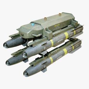 3D 4k missile