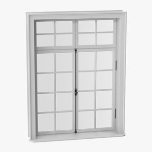 classic window 06 closed model