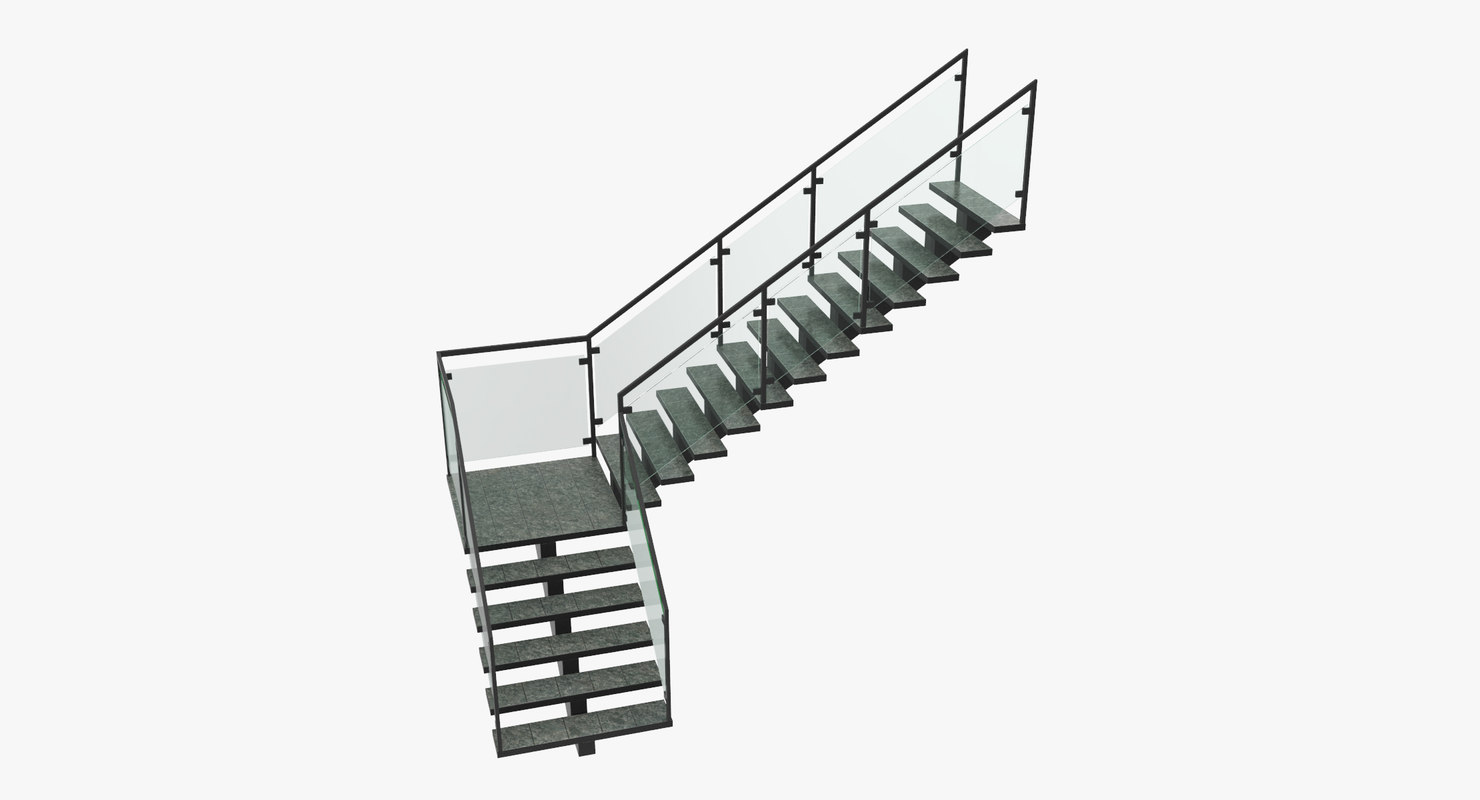 staircase commercial model