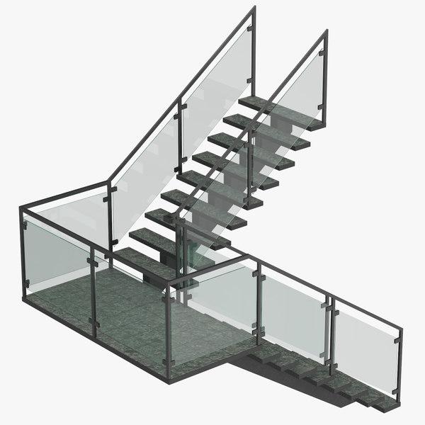 3D commercial landing model