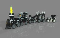 lego train monster model