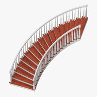 Residential Staircase Curved