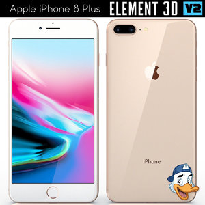 apple iphone 8 element 3D model