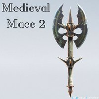 medieval mace 3D model