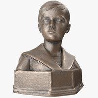 tsarevich alexei nikolaevich 3D