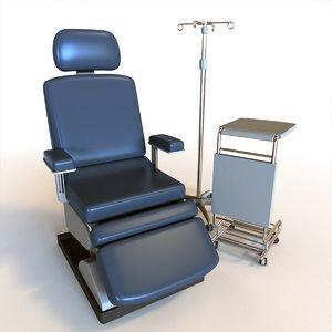 3D medical chair