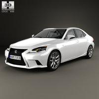 lexus xe30 f 3D model