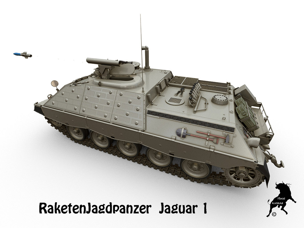 3D raketenjagdpanzer jaguar1