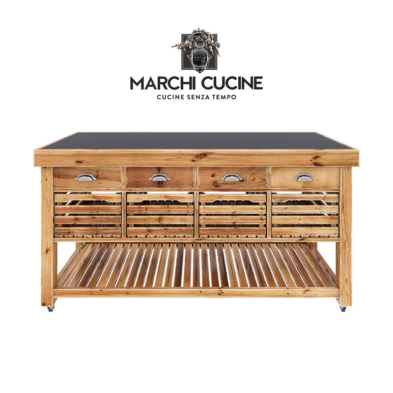 3D kitchen table - marchi model