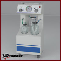 3D medical vacuum extractor