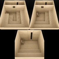 sauna 3D model