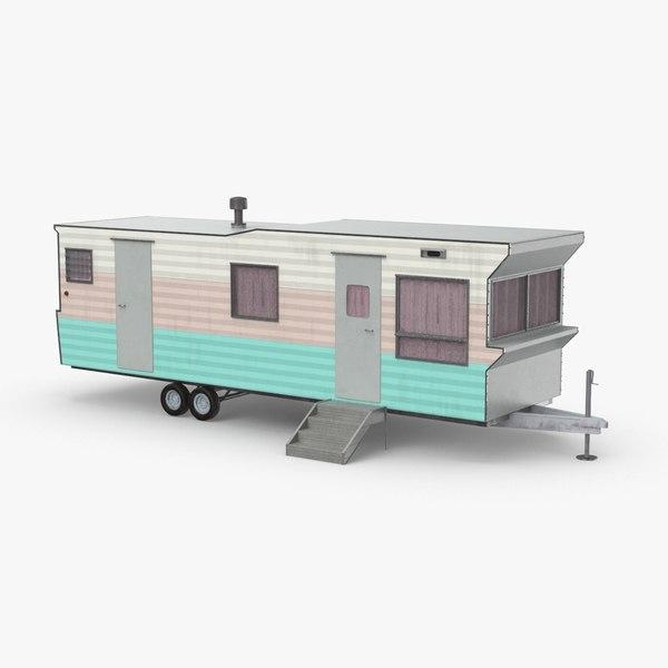 trailer-home---stem 3D model
