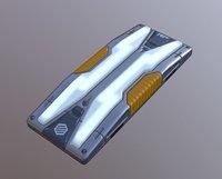 Sci-Fi Lamp Type 02