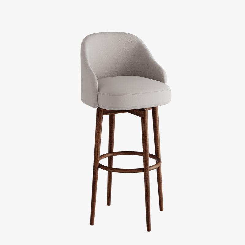 bars stool 3D
