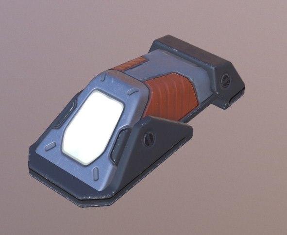 lamp sci fi model