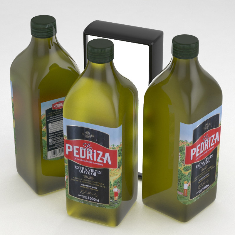 3D pedriza virgin olive