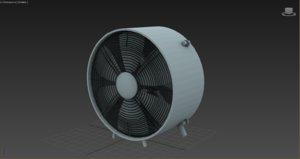 3D model bork fan