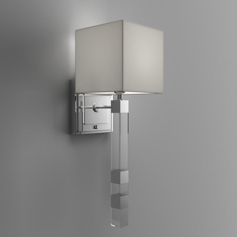 sconce lights 3D model