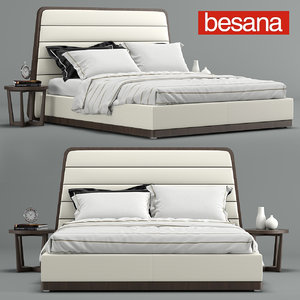 gilda bed besana 3D model