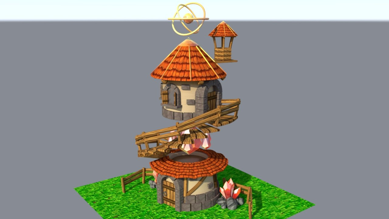 mage tower 3D