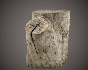 3D stump model