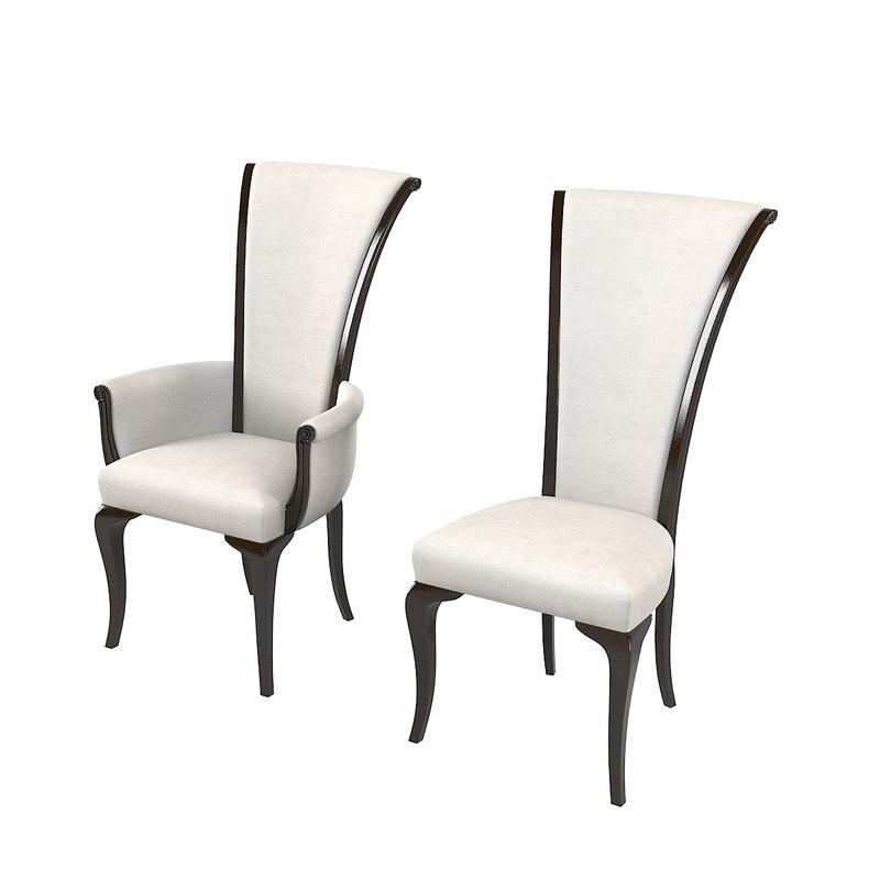 dining chair mobiliavenanti 3D model