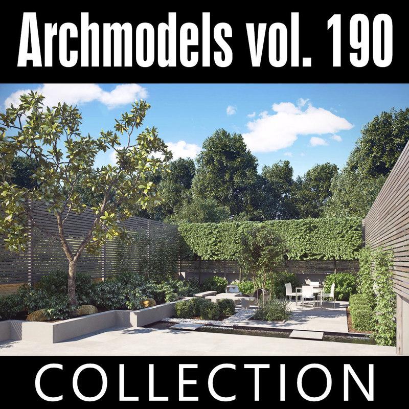 3D archmodels vol 190