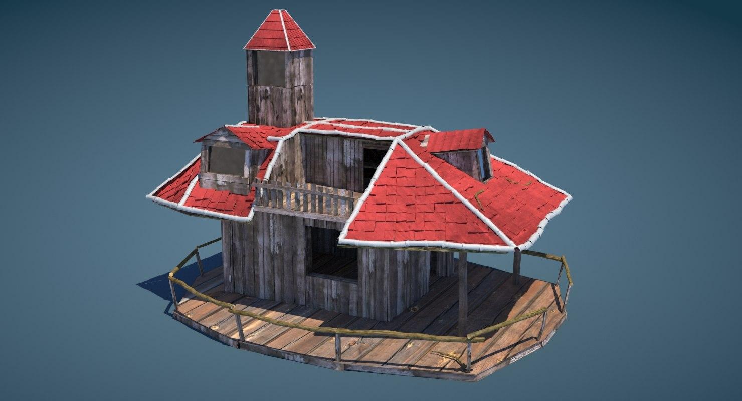tree house 3D model