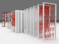 partition decor 3D model