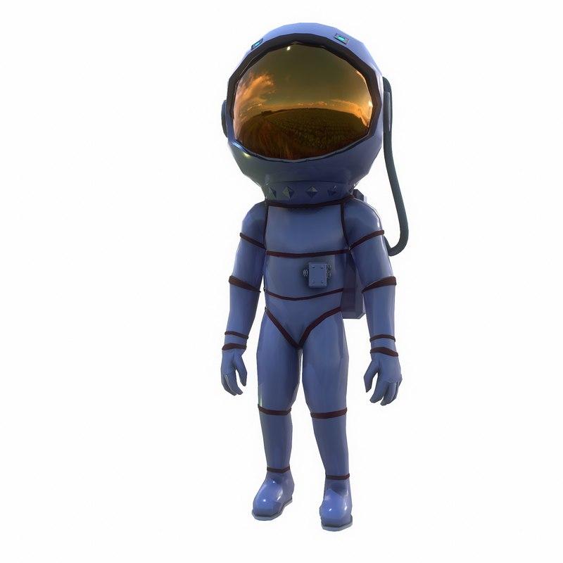 astronaut woman model